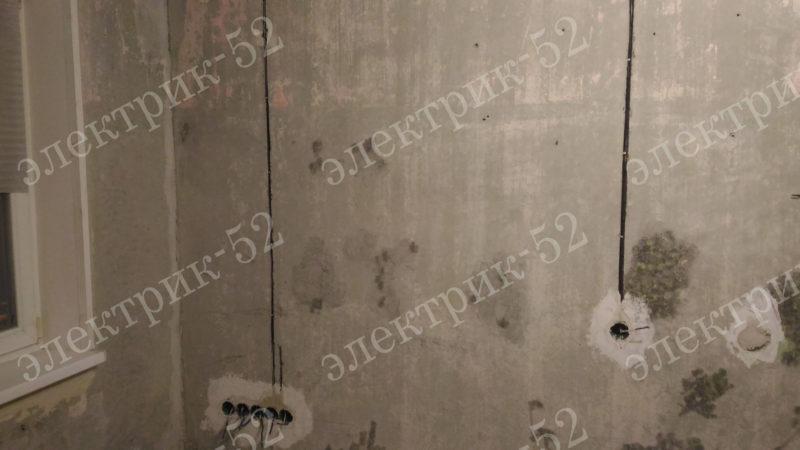 Разводка электрики в панельной квартире