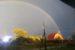 золотая осень радуга
